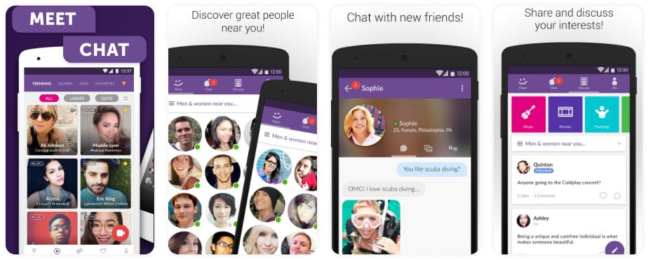 dating site like meetme